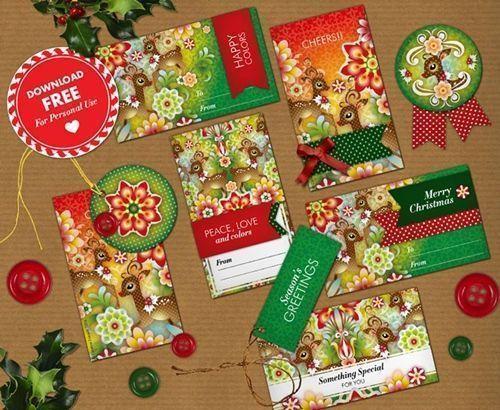 C mo envolver regalos m s bonitos con etiquetas de navidad - Como envolver regalos de navidad originales ...