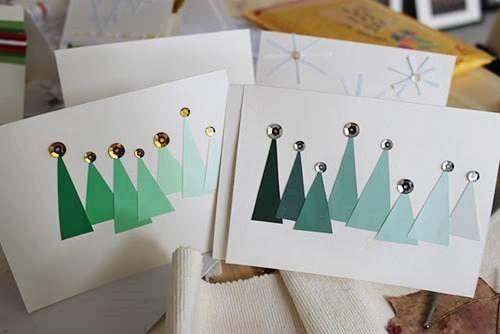 Crear tarjetas de navidad hechas a mano regalo y fiesta for Crear tarjetas de navidad