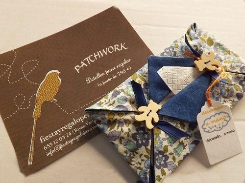 Detalles de patchwork como regalos hechos a mano - Regalos de cumpleanos originales hechos a mano ...