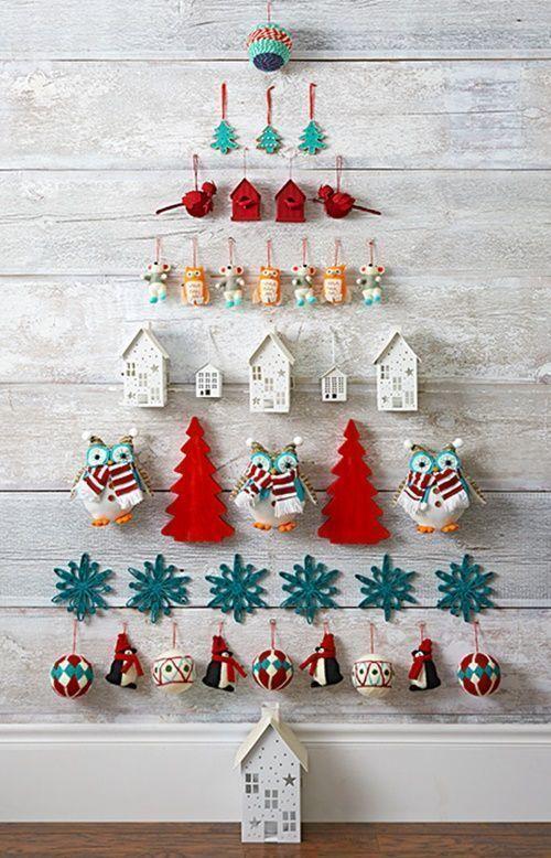 3 ideas de rboles de navidad originales y que no ocupan - Ideas originales arbol navidad ...