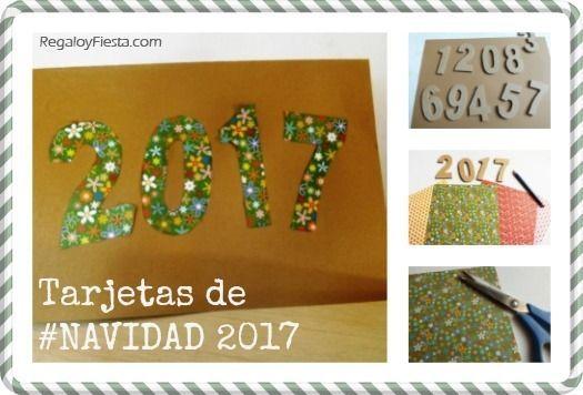 Nuevas tarjetas navide as hechas a mano regalo y fiesta - Tarjetas de navidad faciles ...